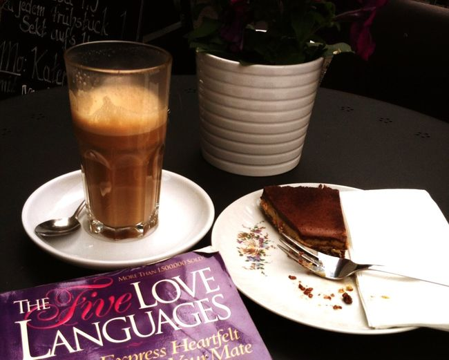 Coffee And Sweets Relaxing Love Languages Enjoying Life