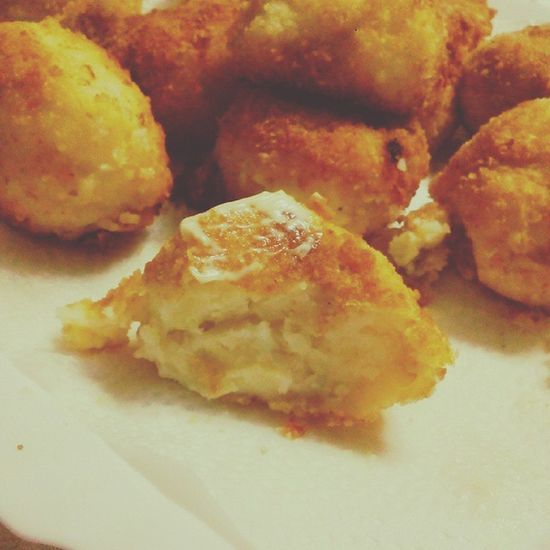 Heaven ? Foodporn Potatoes Cheese! Mayonnaise Sleepover With Ma Besties