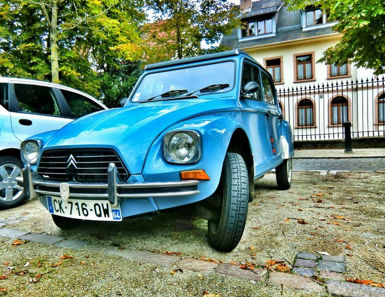 citroen in original blue...isnt it cute? EyeEm Best Edits Edit This Hdr_Collection Vintage Technology my second edit..