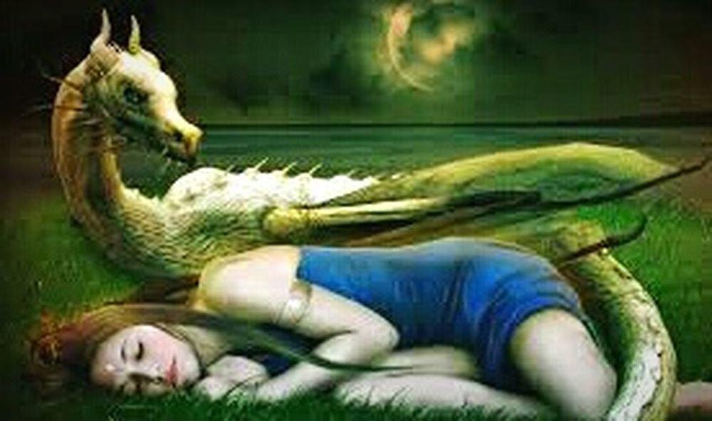 schlafendes mädchen mit drache Bilder Für Wattpad First Eyeem Photo
