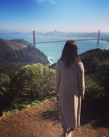 Sanfrancisco GoldenGateBridge Cococherie Kalifornien Travel Traveling America Water