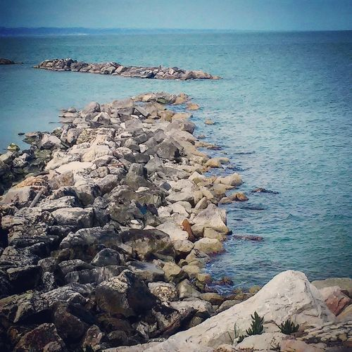 Water Sea Scenics Nature Beauty In Nature Day Sky Outdoors Tranquility Horizon Over Water Nautical Vessel No People Beach Termoli  Molise Italia Freshness Millennial Pink EyeEmNewHere