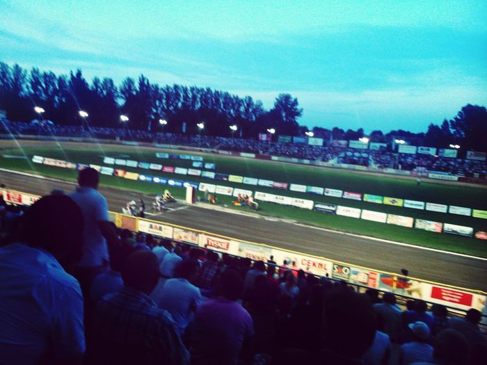 Speedway Stadium Motorcycles Ostrów