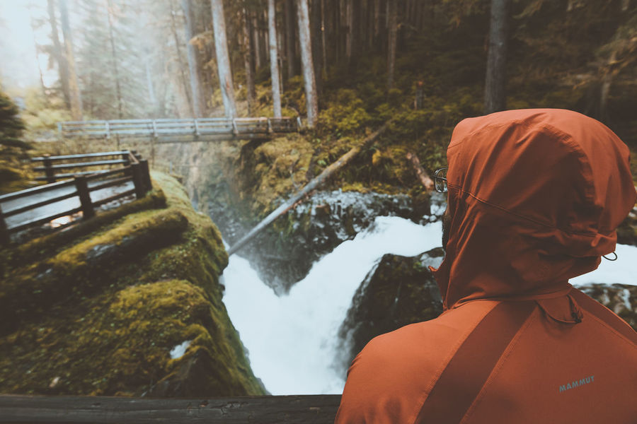 Sol Duc Falls, Olympic National Park Beauty In Nature Flowing Water Leisure Activity Lifestyles Nature Non-urban Scene Outdoors PNW PNWonderland Scenics Season  The Great Outdoors With Adobe Tranquil Scene Tranquility Travel Destinations Tree Vacations Water Waterfall