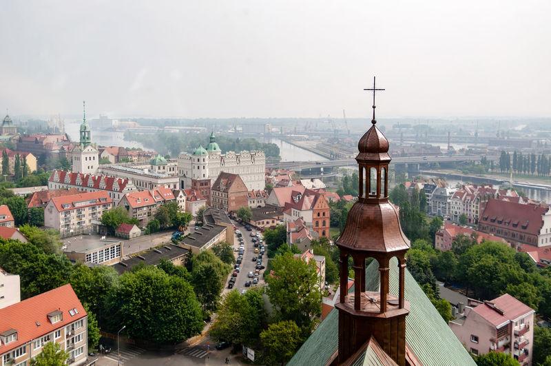 A top view of Stettin, Szczecin in Poland Architecture City Cityscape Poland Stettin Tourism Travel Travel Destinations