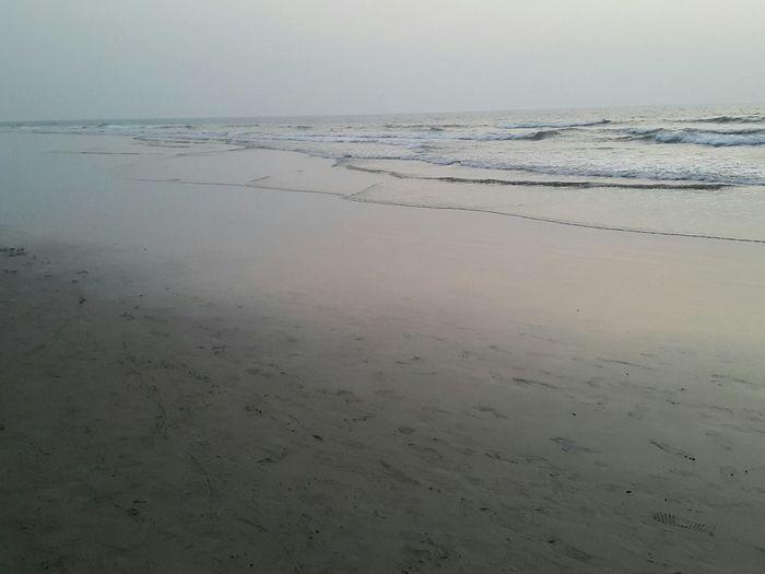 Beach Peace And Quiet Peaceful Sunset Seaside Goa South India Arambol Beach