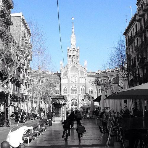 Blue Sky in Barcelona Eyeem Barcelona EyeEm Bnw