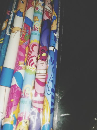 my pencils are radd man !