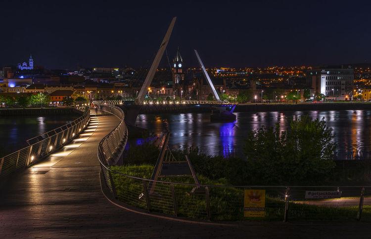 Architecture City Cityscape Londonderry Night Night Lights Nightphotography Travel Destinations