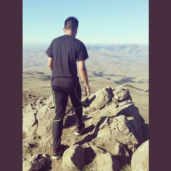 My kinda thing to do on day off Atitagain Missionpeak Hiking