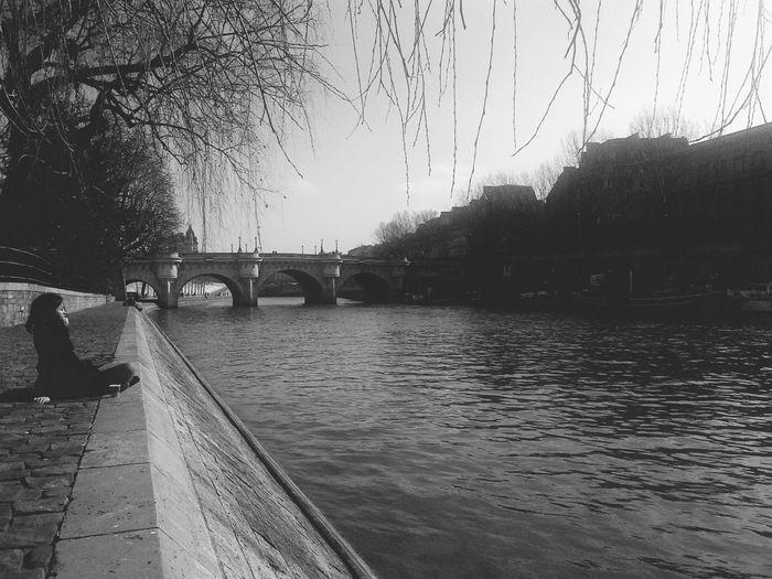 Paris Blackandwhite Black And White Don't Be Square
