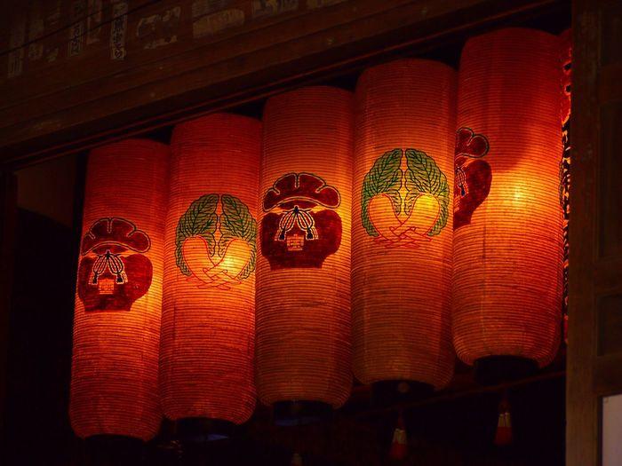 Lantern Lanterns Temple Japanese Temple Illuminated No People Lighting Equipment Paper Lantern Multi Colored Color Colors Colorful