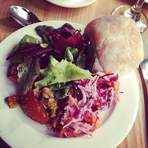 A salad as starter... #tbex #foodporn Foodporn Tbex