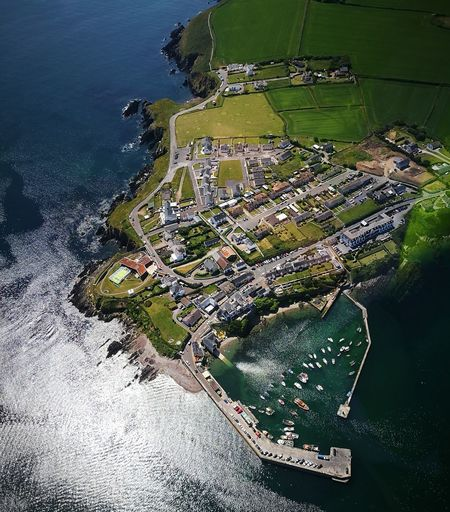 Ballycotton Cork Ireland Learntofly Aerial View Helicopter Flying In The Sky Skywest  Harbour Ballycotton The Great Outdoors - 2018 EyeEm Awards Water Sea Beach High Angle View Close-up
