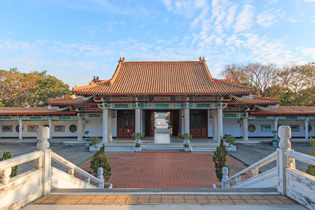 The Kaohsiung Martyrs' Shrine ASIA Buddha China Iconic Buildings Kaohsiung Martyrs Shrine Rock Taiwan