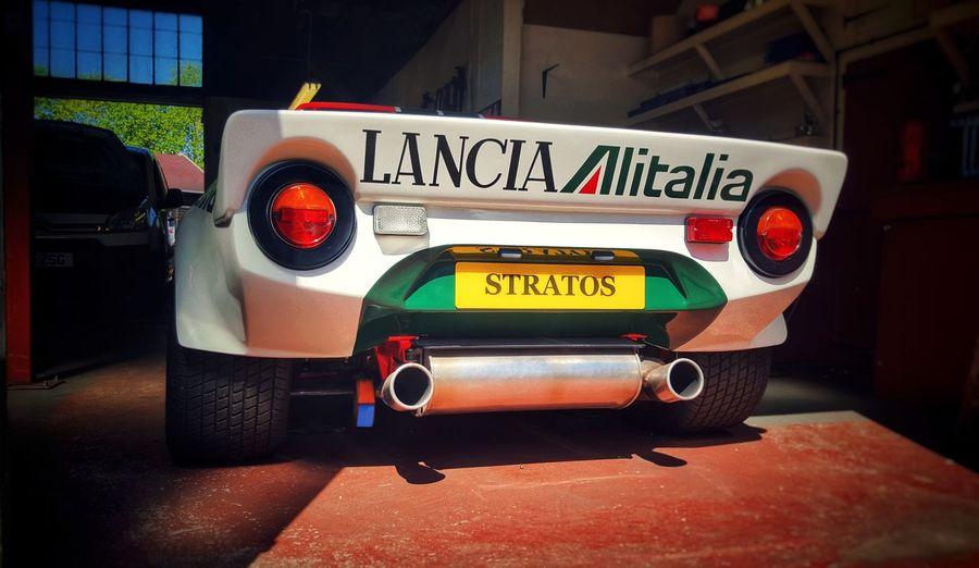 Lancia Stratos Lancia Stratos Alitalia Rally Car Retro Vintage Rally