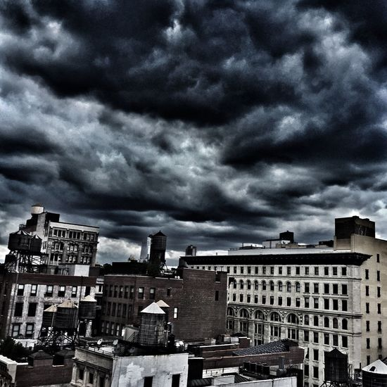 Clouds Dark And Stormy Sky Snapseed D800 Icpschool Phoneography