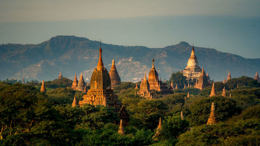 Bagan Buddhism Buddhist Temple Burma Clouds Clouds And Sky Heritage Horizon Landscape Landscape_Collection Landscape_photography Myanmar Place Of Worship Sky Sky And Clouds Sunrise Sunset Sunset_collection Temple Temples Travel Travel Photography