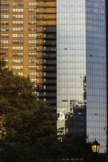Manhattan NYC NYC Street Photography Reflection Architecture Building Exterior Built Structure Golden Hour Skyscraper Streetphotography Upper West Side