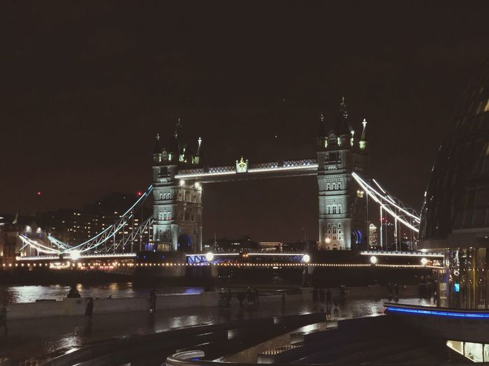 London bridge London River Sky Bridge Reflection Bridge - Man Made Structure No People Travel Destinations Connection Nature Transportation Modern Light Cityscape