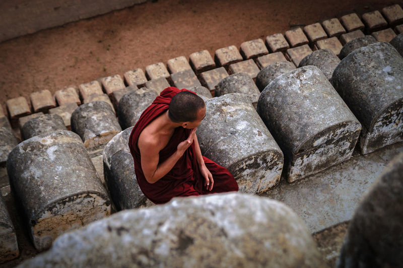 thinking Monk