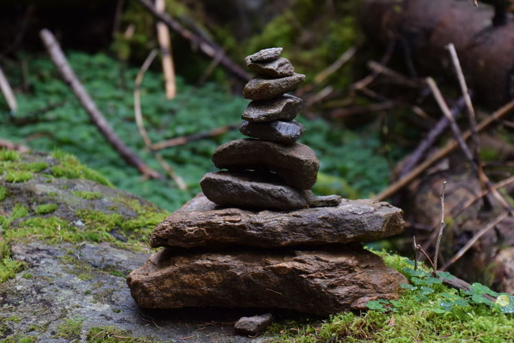 stone Tower 4 Beauty In Nature Close-up Day Focus On Foreground Heap Nature No People Outdoors Stack Stapled Stone - Object Stones Tower Tranquility Zen-like