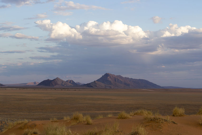 Namib Desert Namibia Namibia Landscape NamibiaPhotography Beauty In Nature Cloud - Sky Day Landscape Mountain Namibia Desert Nature No People Outdoors Scenics Sky Tranquil Scene