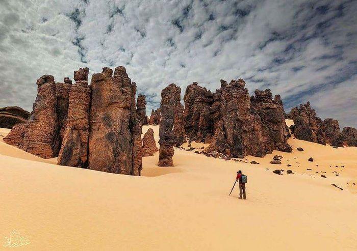 Full Length Desert Snow History Sky Cloud - Sky
