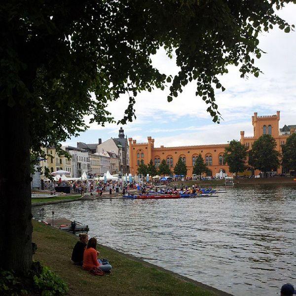 Drachenboote. Schwerin Sports