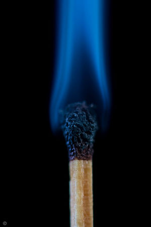 Black Background Close-up Extinguished  Extinguishing Fires Focus On Foreground Matches Photography No More Light No People Single Match