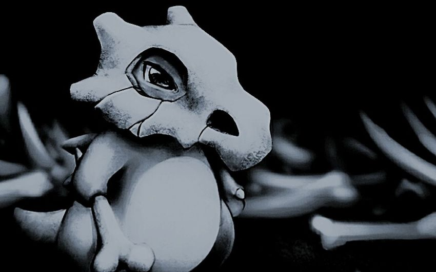 I love this art my friend do this art <3 Pokémon Art Cubone