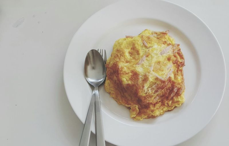 Ham omlette