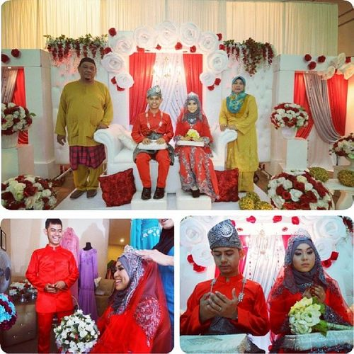 Majlisbertandang 241113 Love Ibuabah wifey Thanks semua yg sudi dtg :) Doakn kami yg baik2 insyAllah..ameen!