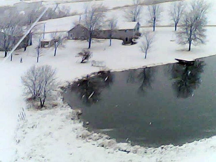 Winter Snow Snowing Outdoors Drone Photography Water