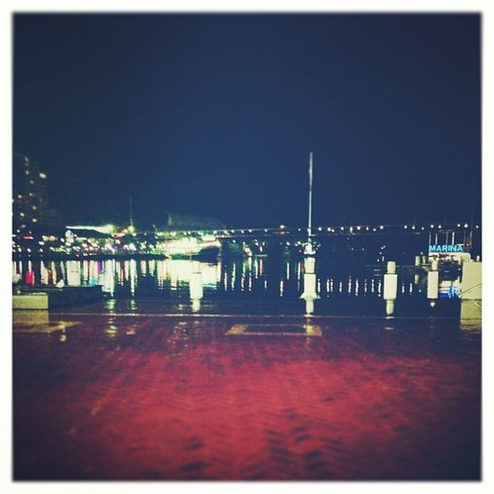 Waiting... Harbour Watet Reflection // Edited with @KitCamApp KitCam blowout midnight walker_/alt