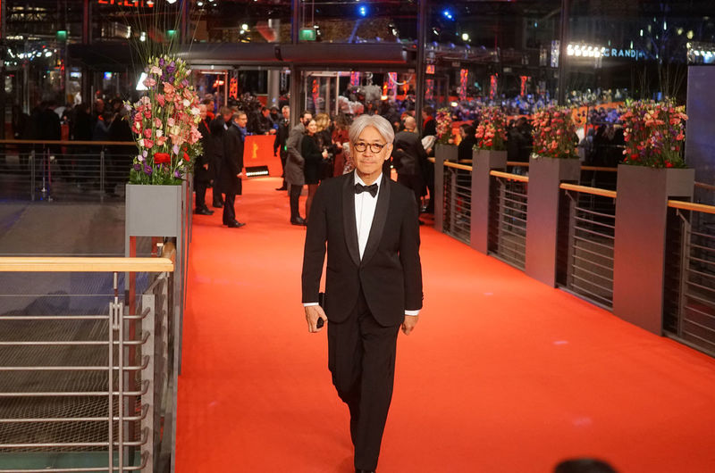 Berlin, Germany - February 24, 2018: Japanese musician, composer and member of the jury Ryuichi Sakamoto attends the closing ceremony during the 68th Berlinale International Film Festival 2018 68th Berlinale Closing Ceremony Famous Film Festival Ryuichi Sakamoto Arts Culture And Entertainment Berlinale Berlinale 2018 Berlinale Festival Berlinale2018 Berlinale68 Entertainment Entertainment Event Famous People Film Industry Jury Member Mass Media Red Carpet Red Carpet Event