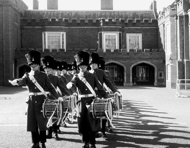 British Royal Guard London Gard Parade