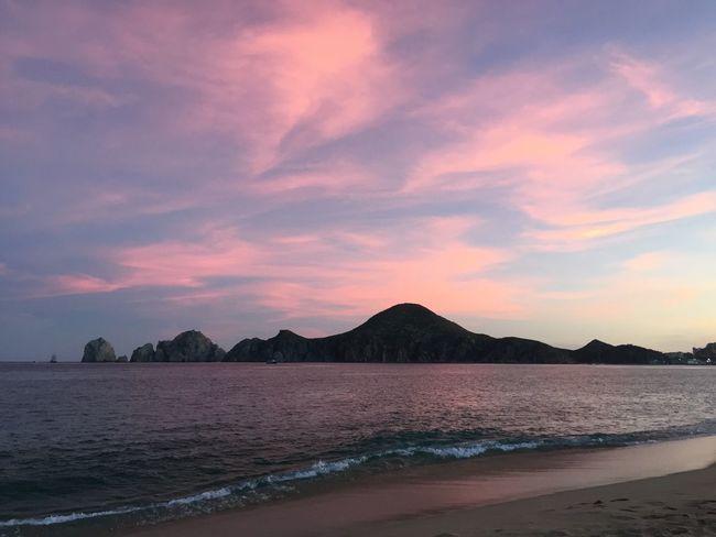 I LOVE CABO SAN LUCAS Médano Sunset Evening Beach Csl Land's End