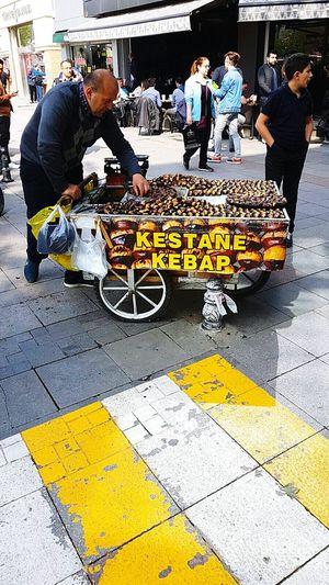 The Street Photographer - 2017 EyeEm Awards Bicycle Yellow City Turkey Kadikoy Kestane Kebap Yemesi Sevap ;))