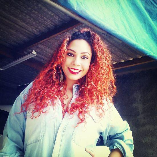 Redhair Curly Hair