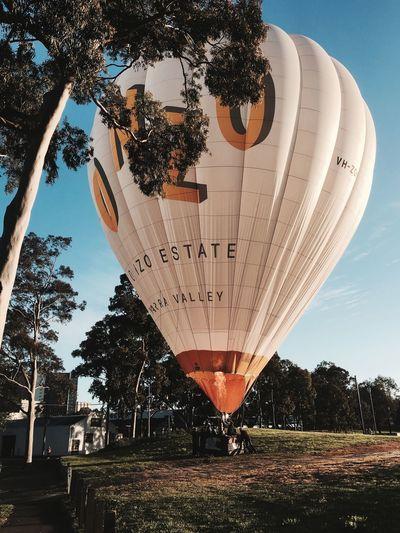 Hot air balloon First Eyeem Photo