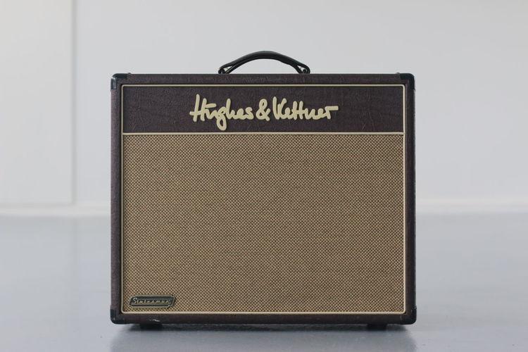 Amp Amplifier Close-up Front View Hughes & Kettner Indoors  Vintage