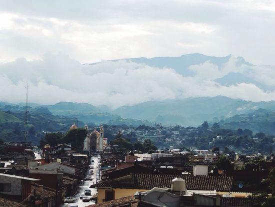 Xico enter las nubes Veracruz Mexico Xico
