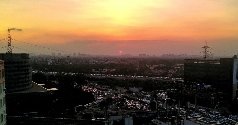 Sunset from my