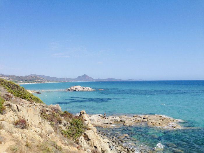 Costarei Cerdeña Sardegna Beatiful Place Panorama Sardinia Sea Water Sky Beauty In Nature Scenics - Nature Land Horizon Beach Blue Travel Day Nature