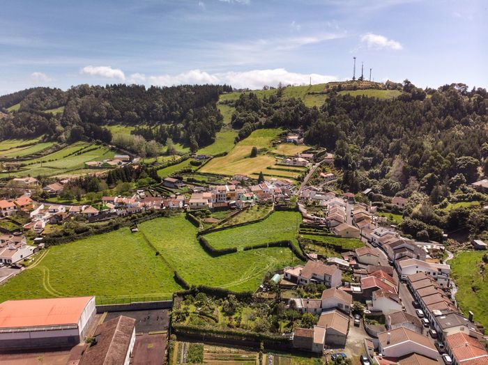 Furnas from above Furnas Tourism DJI Mavic Air DJI X Eyeem Drone Photograph Portugal Azores Açores - São Miguel Plant Tree Growth Sky Architecture Nature Landscape Rural Scene Day Scenics - Nature Cloud - Sky High Angle View Green Color Environment Building Built Structure Field Agriculture Building Exterior Land
