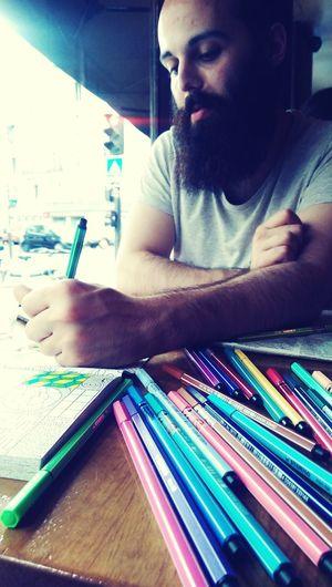 Coloring Book Cool Kids