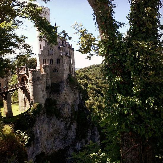 Castle Schloss Lichtenstein Germany Deutschland Tourist Princess Sightseeing