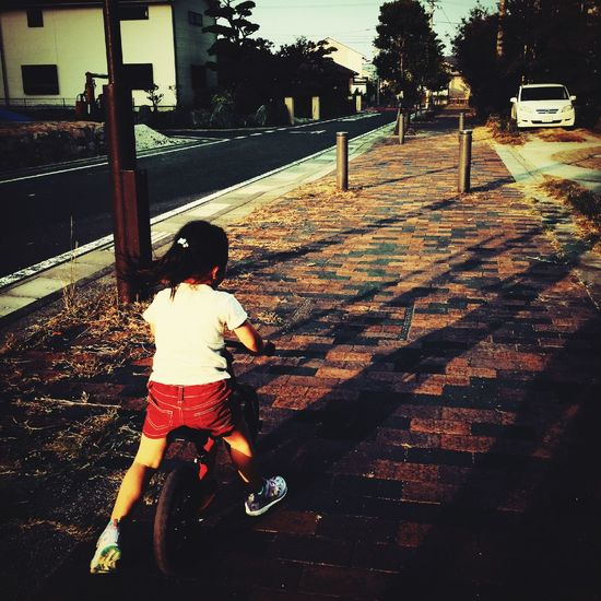 Children 子供 ストライダー Silhouette