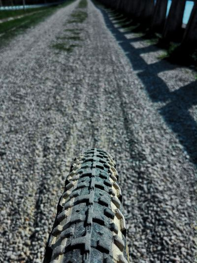 Shadow Sunlight Textured  High Angle View Close-up Tire Track LINE Roadways Vehicle Architectural Design